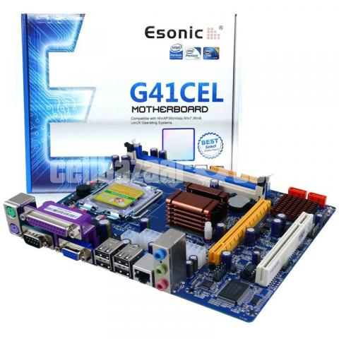 Esonic G41-CPL INTEL CHIPSET DDR3 Motherboard - 7/10