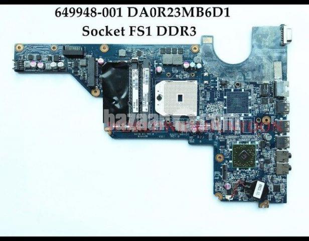 HP Pavilion G4 G6 G7 2ND GEN Laptop motherboard Socket DDR3 - 9/10