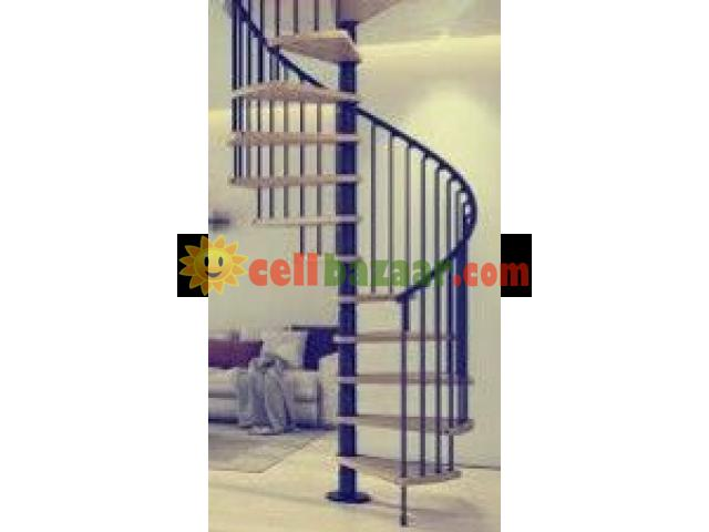 Duplex stair - 3/4