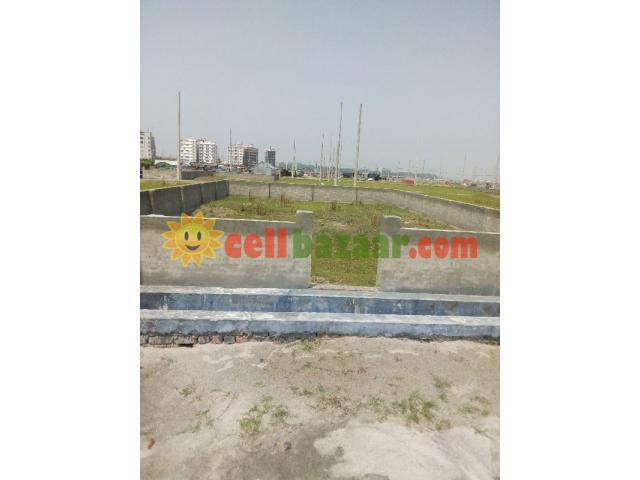 110' Rd 3 Katha Commercial Plot Sell@Sec- 17/I. Uttara - 1/1