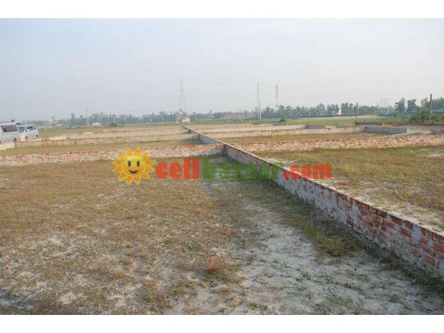 4 katha North corner plot@probashi palli - 5/5