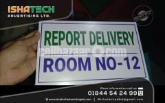 Doctor Name Plate Room Name Plate Acp Board with UV Print Name Plate House Name Plate