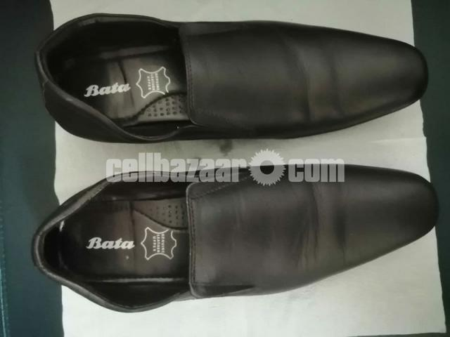 BATA Shoes- Size 8, Chocolate Color - 1/2