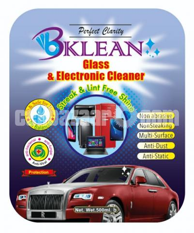 Bklean Glass & Electronic Cleaner  - 2/2