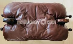 Wooden decorative side seaters