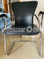 Chair leather & stainless steel