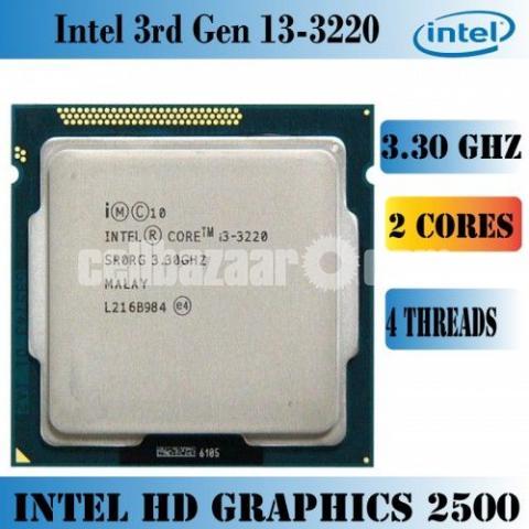 Intel Core i3 3220 (3rd gen) Processor - 2/2