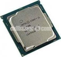 Intel Core i3 7100 (7th gen) 3.9GHZ processor