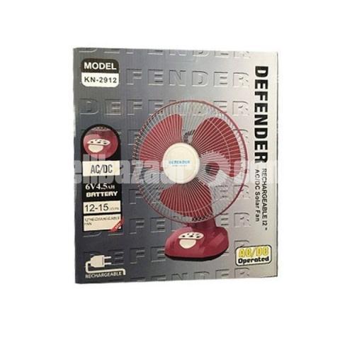 Defender 12 Inch Rechargeable Fan - 1/1