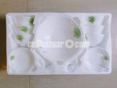 15 Pcs Ceramic Soup Set