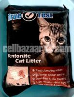 Cat food and litter