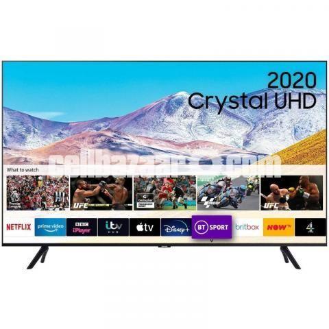 Samsung 55'' TU8100 4K Crystal UHD Smart Android TV - 1/3