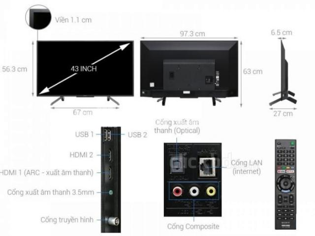 SONY BRAVIA 43 inch-FULL HD LED SMART TV - 4/4