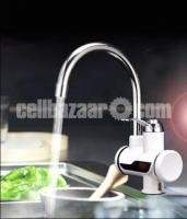 Digital Display Electric Instant Water Heater Tap for Basin with Hand Shower
