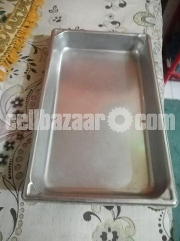 Display Tray Stainless - 1/1