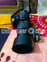 Nikon D3200 With 50-200