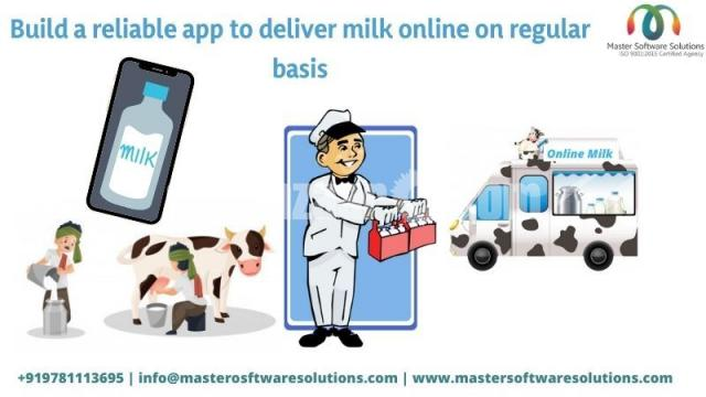 Milk Delivery App Development - 1/1