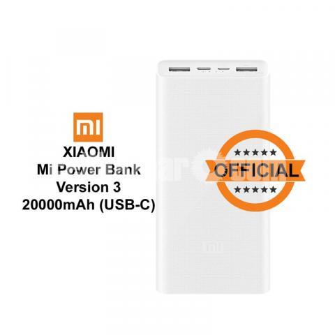 Xiaomi Mi Power Bank Version 3 20000mAh USB-C with QC3.0 18W Portable Powerhouse - 1/5