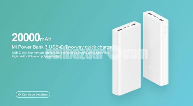 Xiaomi Mi Power Bank Version 3 20000mAh USB-C with QC3.0 18W Portable Powerhouse - 4/5