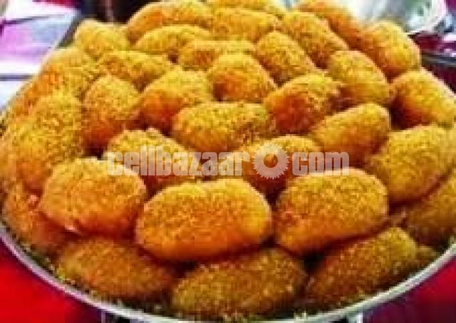 Tangail famous Cham Cham and Curd - 1/5