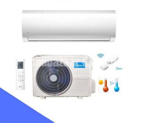 MIDEA 1 TON MSM-12HRI INVERTER HOT & COLD SPLIT AC - 4/5