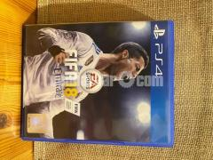FIFA 18 PS4 Game PRICE NEGOTIABLE