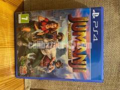 JUMANJI PS4 Game PRICE NEGOTIABLE