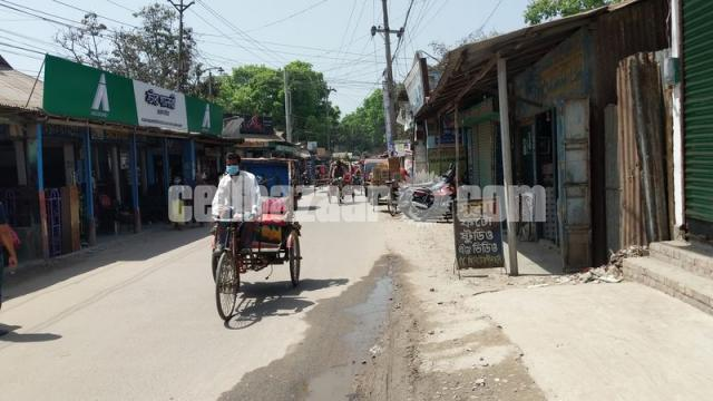 9 satak land with showroom for sale at lalmonirhat - 1/5