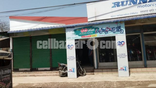 9 satak land with showroom for sale at lalmonirhat - 4/5