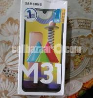 Samsung M31 8/128 intact phone for sell