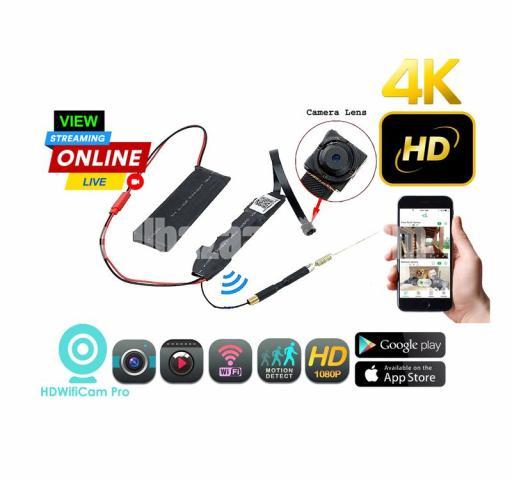 Spy Camera 4K Rebon P2P Module Live Wifi IP Camera Wireless Cam - 1/5