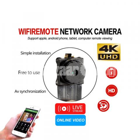 Spy Camera 4K Rebon P2P Module Live Wifi IP Camera Wireless Cam - 2/5