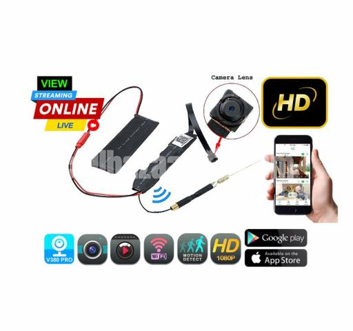 Spy Camera 4K Rebon P2P Module Live Wifi IP Camera Wireless Cam - 3/5