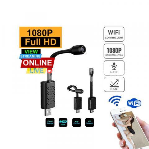 Spy Camera 4K Rebon P2P Module Live Wifi IP Camera Wireless Cam - 5/5