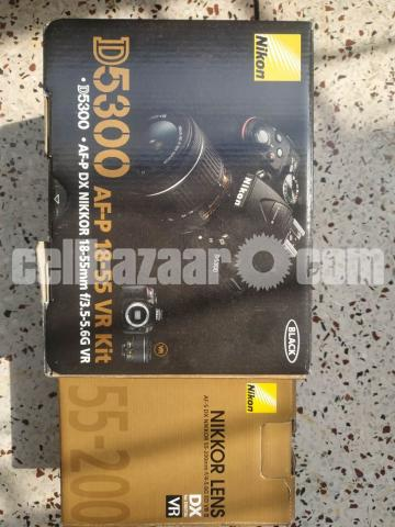 NIKON D5300 body with kit and zoom lens (Full set) - 1/10