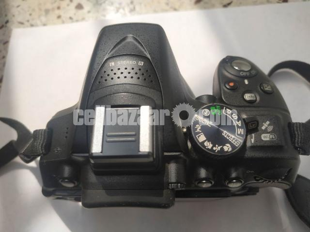 NIKON D5300 body with kit and zoom lens (Full set) - 9/10