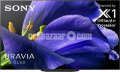 "Sony Bravia A9G 77"" Class Master Series 4K UHD OLED TV"