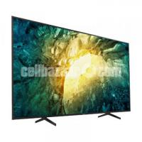 Sony Bravia 65'' X8000H 4K UHD X1 Processor Android TV