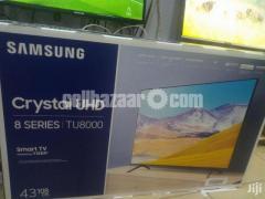 "Samsung TU8000 43"" 4K UHD Smart Android TV - Image 2/4"