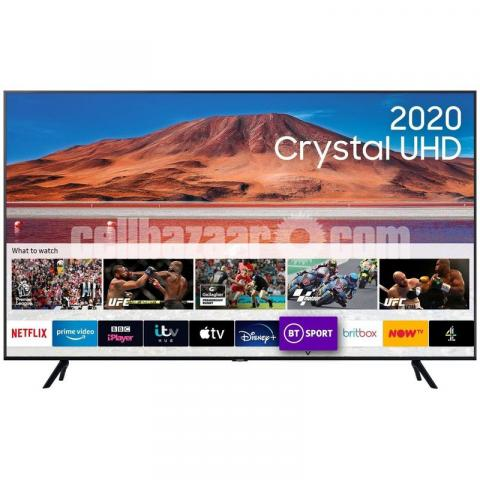 SAMSUNG 43 inch TU7100 CRYSTAL UHD 4K SMART TV - 4/5