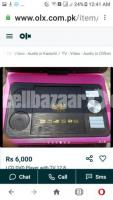 LCD DVD Player with 12.8 inches TV  Black Color - Image 5/5