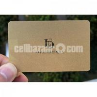 High Quality Membership Card Print Price in Paltan 50 TK.