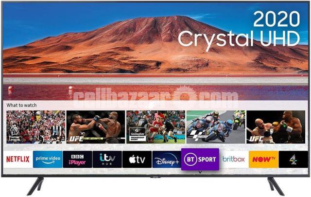 Samsung 43'' TU7100 Crystal UHD 4K Smart Android TV - 1/4