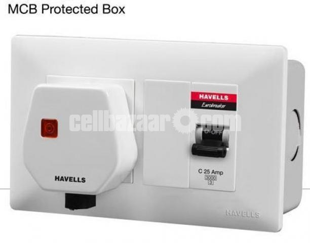 MCB Protected Socket DBOXX ( With Plug ) - 2/2