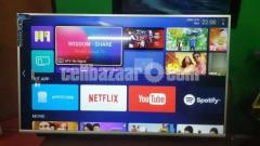 Pentanik 65 Inch 4k Smart Android LED TV With Sound-bar