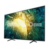 Sony Bravia 65'' KDX7500H 4K Voice Control Android TV