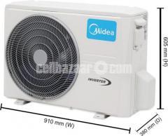 Midea MSI-18HIAG1 1.5 Ton Inverter Hot & Cool  AC 18000BTU