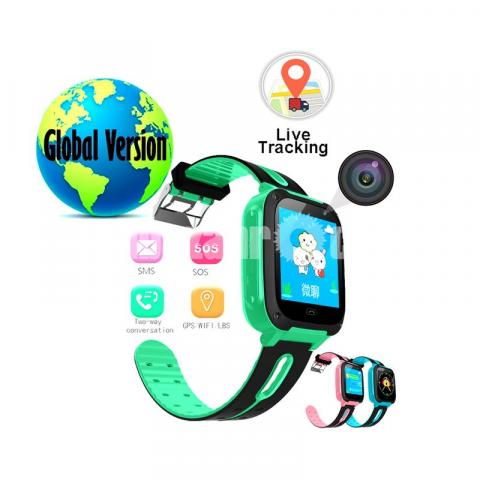 GPS Tracker Kid's Smart Watch kid's Watch Global Version - 1/7