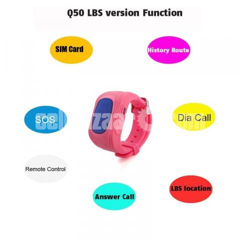 GPS Tracker Kid's Smart Watch kid's Watch Global Version - 3/7