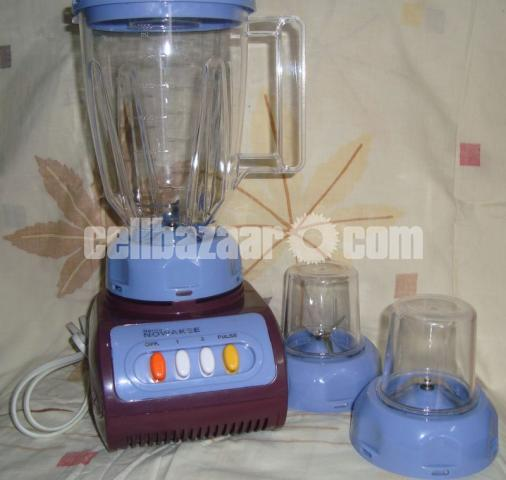 Electric Blender with two Grinder - 3/4